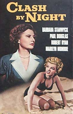 Image result for clash by night poster